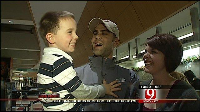 Oklahoma Airmen Return Home From Afghanistan Deployment