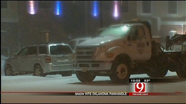 Drivers In Oklahoma Panhandle Urged To Stay Safe In Winter Storm