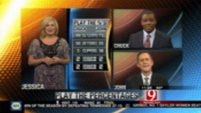 Play the Percentages: Dec. 18, 2011