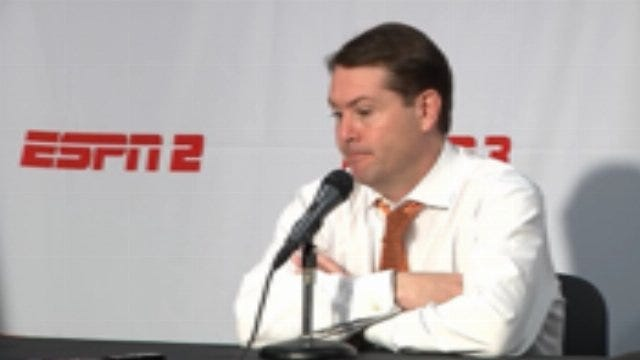 OSU Coach Travis Ford After The loss