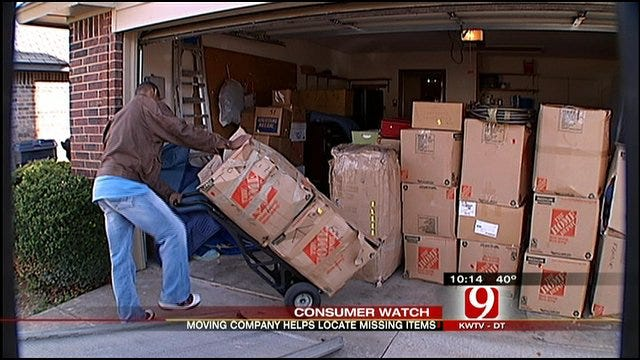 OKC Woman's Belongings Finally Delivered To Bare Home