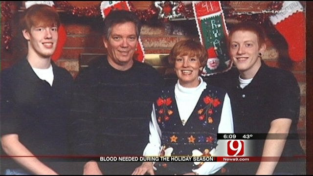 OKC Woman Urges Blood Donations During The Holidays