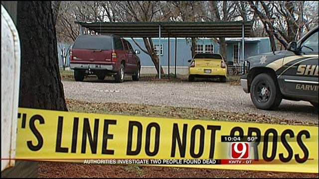 Sheriff's Office, OSBI Investigate Bodies Found In Garvin County Home