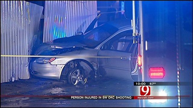 Southwest OKC Shooting Ends In Crash Near Restaurant