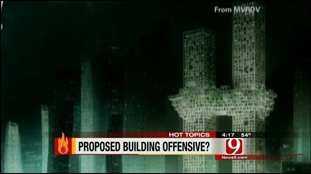 Hot Topics: Skyscraper Proposal Looks Like Twin Towers Being Attacked