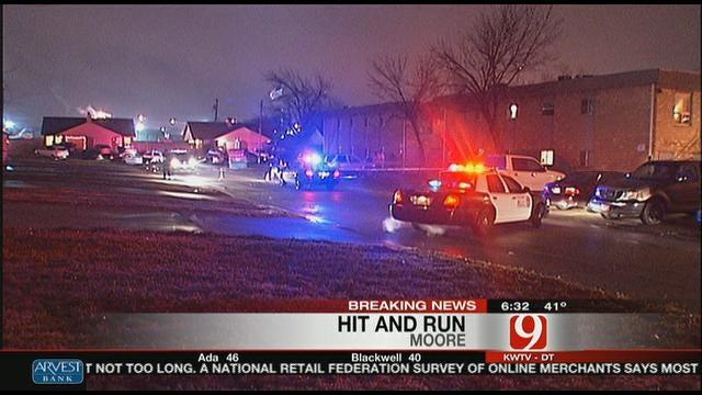Police Investigating A Wild Scene In Moore