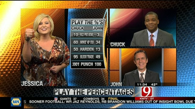 Play the Percentages: Dec. 11, 2011