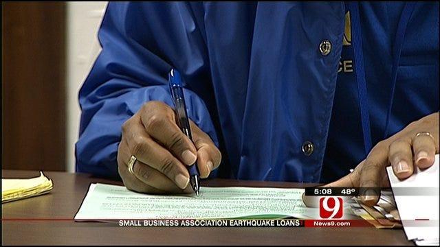 SBA Offers Loans To Oklahoma Earthquake Victims