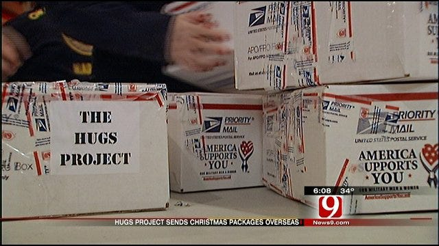 Hugs Delivered To Troops Overseas