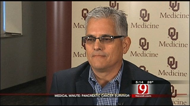 Medical Minute: Oklahoma Pancreatic Cancer Survivor