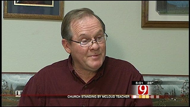 Pastor Speaks Out About McLoud Teacher Charged With Child Porn