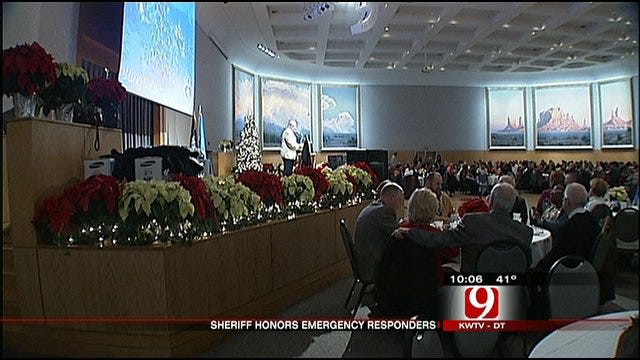 First Responders Honored For Saving Deputy