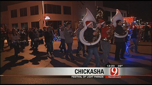 Chickasha Festival Of Lights Parade