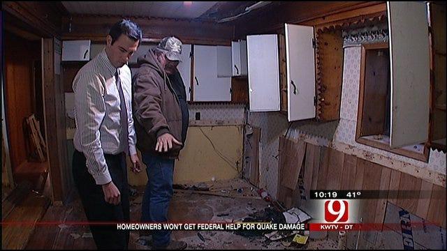 Quake Clean Up Continues Despite Federal Funds Denial