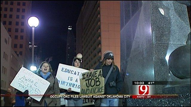 Occupy OKC Protesters Get Reprieve