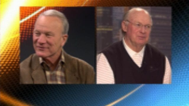 Pat Jones And Barry Switzer on Bedlam
