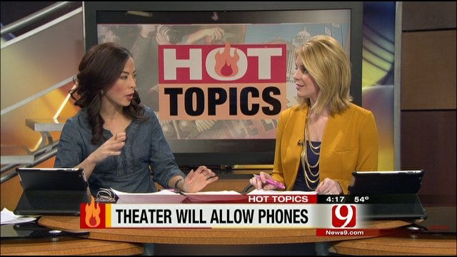 Hot Topics: Cell Phones In Theatres, Virgin Diaries, Osteen Reality Show