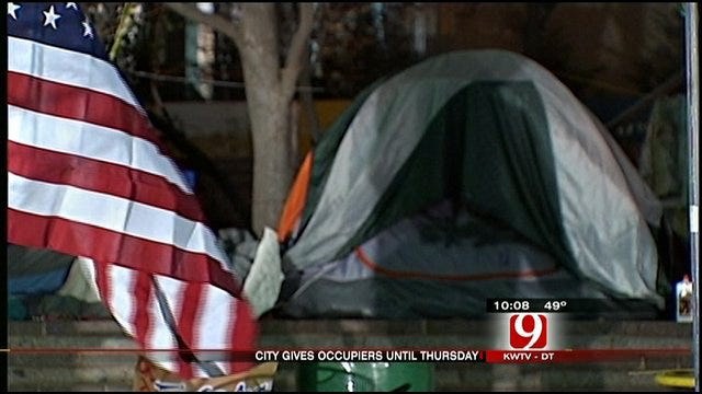 Occupy OKC Protestors Defy City Orders, Willing To Be Arrested