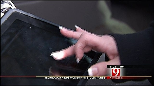 OKC Mother Tracks Stolen Purse With IPhone App