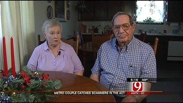 El Reno Couple Turns Tables on Scammers