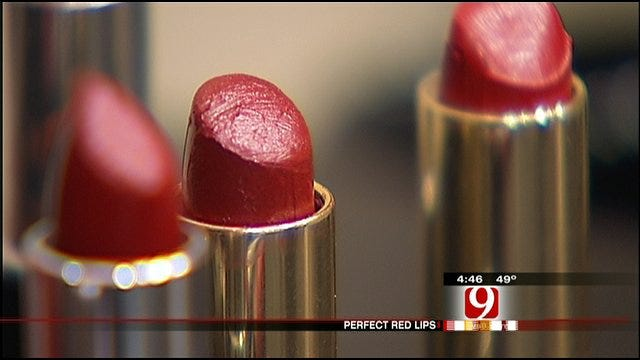 Styling Oklahoma's Own: Holiday Red Lips