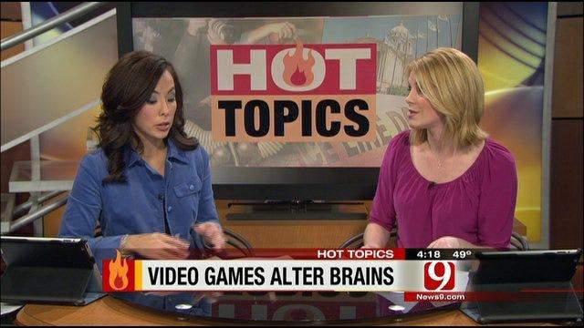 Hot Topics: Violent Video Games Could Alter Young Men's Brains