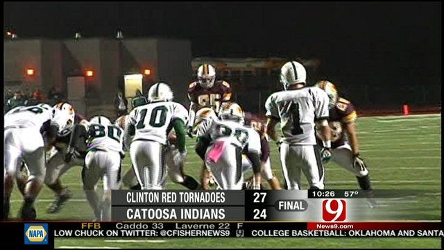Clinton Downs Catoosa In Double Overtime
