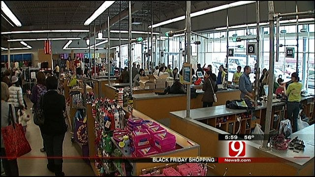 "OKC Black Friday Shoppers ""On A Mission"""