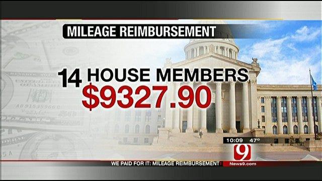 We Paid For It: Lawmakers' Travel Reimbursement