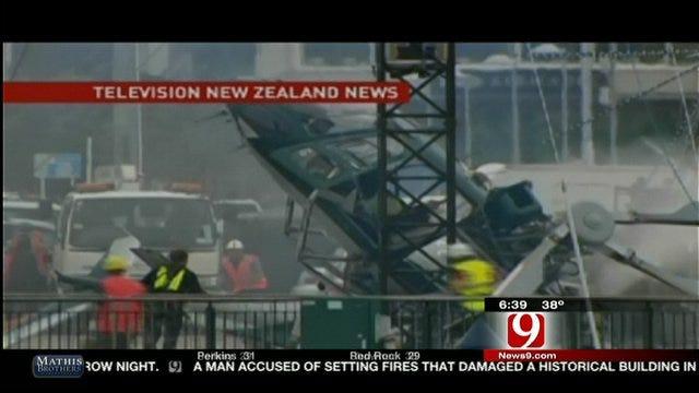 New Zealand Plane Crash Video