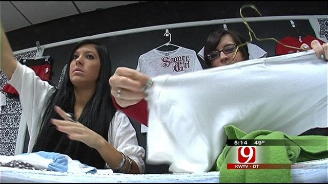 Moore High School Program Encourages Students to Donate, Share