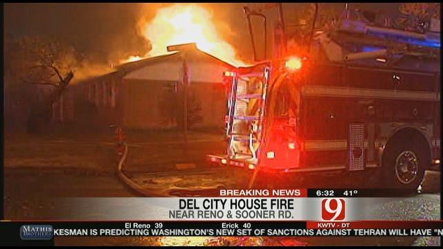 Smoking Turkeys Sets Del City House On Fire