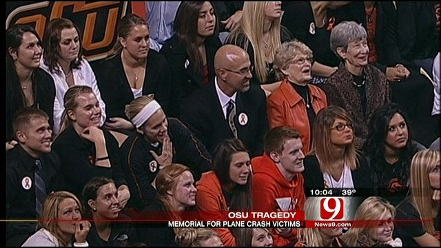 Friends Share Memories Of OSU Plane Crash Victims At Memorial Service