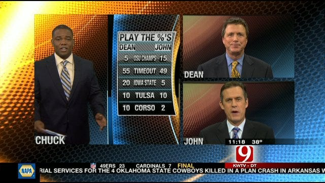 Play The Percentages: Nov. 20, 2011