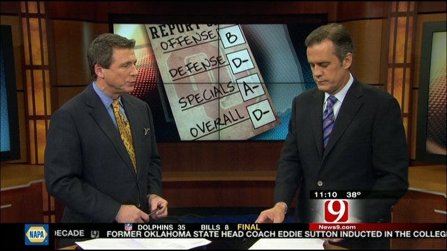 Oklahoma Report Card Against Baylor