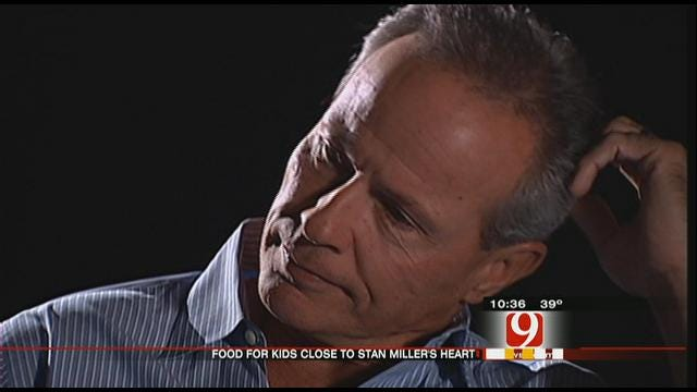 New 9's Stan Miller Has Passion For Helping Hungry Kids