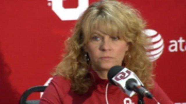 OU's Sherri Coale Reacts To Loss Of OSU Coaches-Part 1