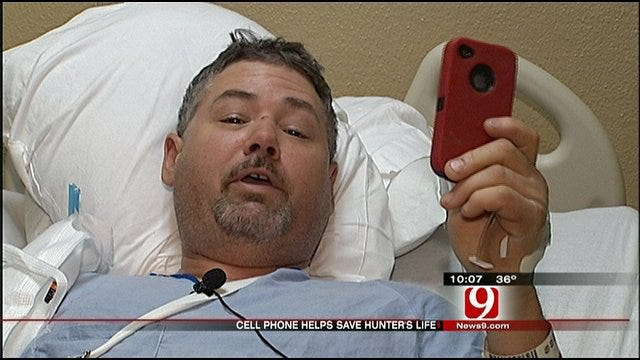 Harrah Man Lucky To Be Alive After Freak Accident