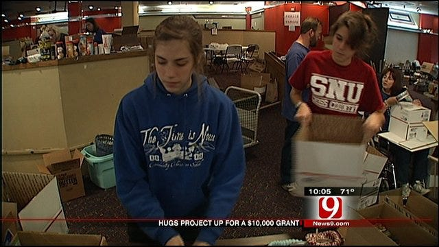 OKC Hugs Project Needs Votes To Win Grant