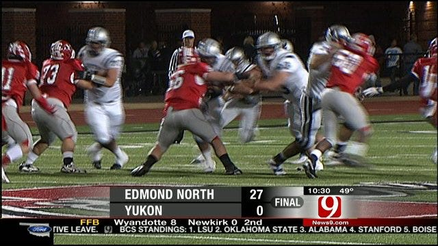 Edmond North Shuts Out Yukon In First Round