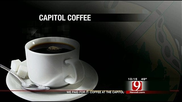 We Paid For It: Coffee For Legislators