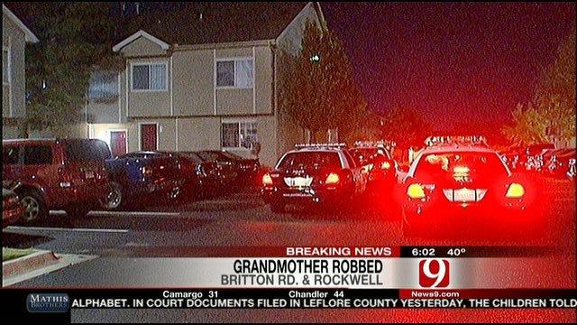 Three Men Rob Grandmother At Gunpoint In Oklahoma City