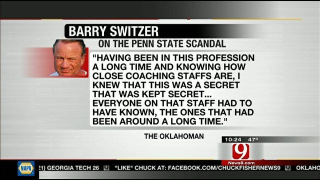 Barry Switzer Gives His Thoughts On Penn State Situation