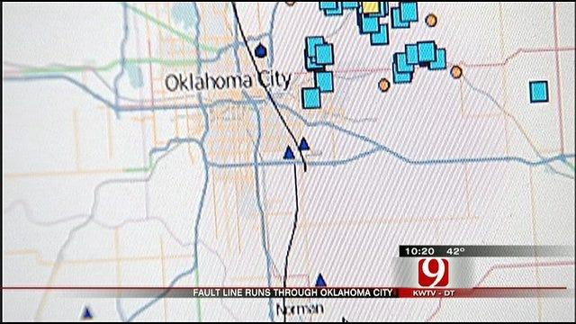 Nemaha Fault Lies Right Under Oklahoma City