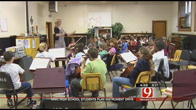 Instruments No Easy Task For Middle School Students