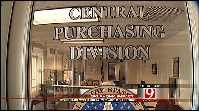 State Workers Speak Out Against Overspending