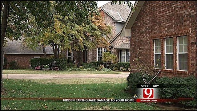 OKC Inspector Advises To Check For Hidden Earthquake Damage