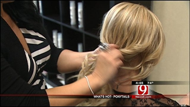 Styling Oklahoma's Own: Stylish Ponytails