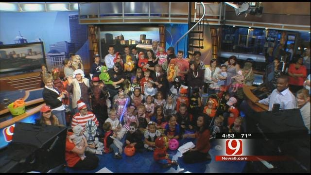 News 9 Kids Celebrate Halloween In Studio