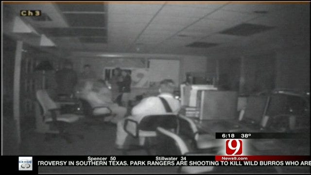 Are There Ghosts At News 9?